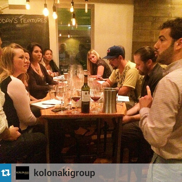 #rapsanilovers in action!  #Repost from @kolonakigroup with @repostapp —Tasting the wines of the Mount Olympus in the nations capital. @tsantali Rapsani now available in Ottawa at @evoogreekkitchen #ottawa #canada #evoo