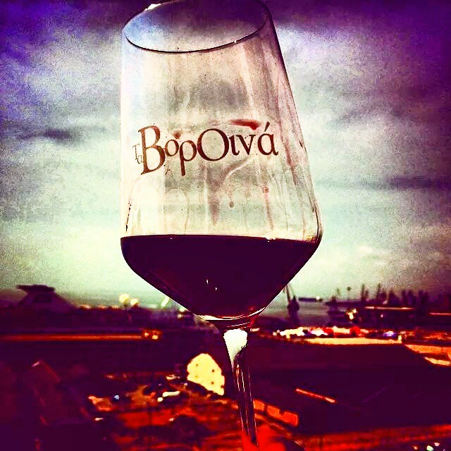 Getting for #vorOina! Wine fest at #thessaloniki port that brings the very best of Northern Greece vineyards!  #greekvines #greekwine #greekgrapes #drinkGreek #winefestival #inmyglass #northgreece #greece #taste #bliss #wineexperience #winelover