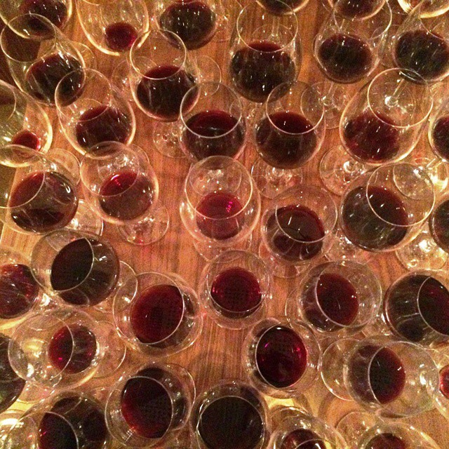 The remainings of a tasting... #wineexperience #Rapsani #Mtolympus #rapsanieffect #rapsanilover #feelinglikeagod #bliss #inmyglass #xinomavro #krassato #stavroto #tasting #passion #intriguing #lovegreekwine #vintage #drinkGreek #greekwine #vertical #greekgrapes #cheers #degustation