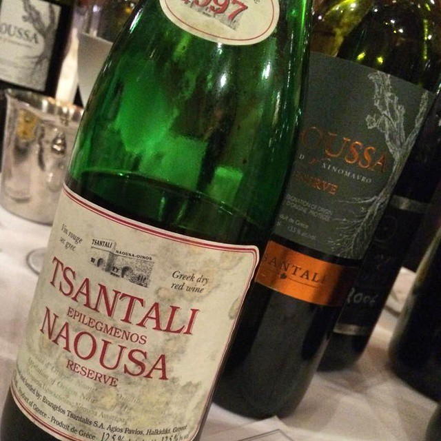 From 1997 to 2010 vintage for our Naoussa Reserve. As you can see we are having a xinomavro blast tonight at Naoussa!  #naoussa #xinomavro #greekgrapes #greekwine #drinkGreek #tasting #wineexperience #northgreece #greece #journey #unique #legacy #inmyglass #vintage #explore #bliss #expression #winelover #tradition #innovation #wine #cheers