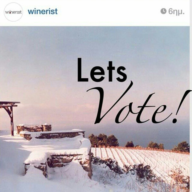 Kudos! Our Mount Athos vineyard made it to the shortlist of @winerist online competition for the best wintry photo. 13 amazing photos from all over the world so.... it is time to vote for Mount Athos #7.  Just click on the link and vote!  http://www.winerist.com/blog/entry/13-incredible-winter-vineyard-instagram-photos  Spread the word! #wineisfun