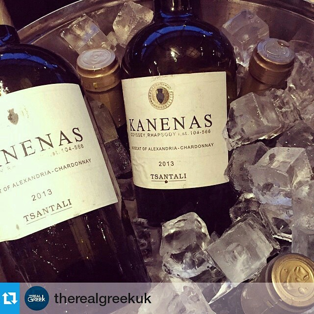 If you are in London, you have absolutely no excuse to miss out on The Real Greek experience.  #london #kanenas #greekwine #uk #winelover #drinkGreek #inmyglass #greekrecipes #gastronomy #proud #vino #wine #wineisfun #taste  #foodandwine  #Repost @therealgreekuk ・・・ #Kanenas #Tsantali #whitewine Only the best at The Real Greek party! We are ready :)