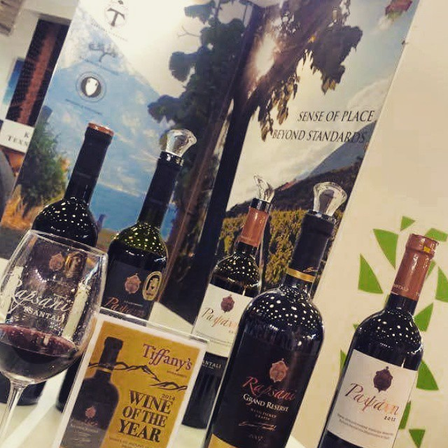 Our Rapsani line up ready to fill some glasses. First day of Detrop-Oenos Exhibition in Thessaloniki. Join us at the stand of Wines Of North Greece.  #Rapsani #rapsanieffect #winelover #rapsanilover #Mtolympus #divine #feelinglikeagod #inmyglass #bliss #drinkGreek #greekwine #wineforall #greekgrapes #winefestival #taste #thessaloniki #greece #detrop #oenos #wineexperience #share #senseofplace #explore #northgreece #Greece