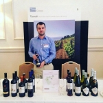 Dimitris at Decanter FWE in London